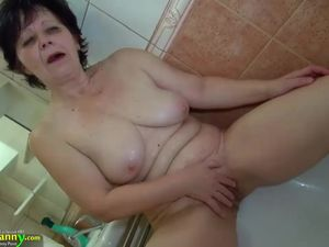 OldNannY Teen Fucking Hot Grandmom with..