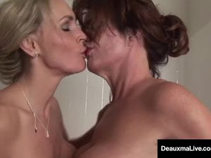 Busty Milf Deauxma Has Pussy Licking..