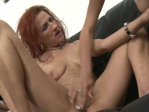 Horny Old and Young Lesbian Couple..