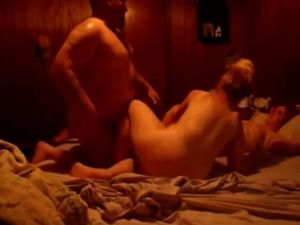 Mature Couple Sex With Teen Girl At..