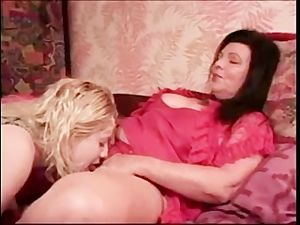 Mature Lesbian with a Young Girl