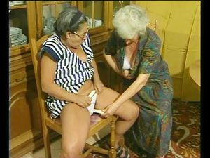 Two grannys discover the joys of a..