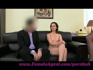FemaleAgent. Anal creampie for cute..