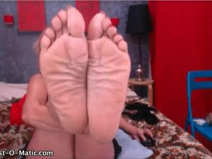 mature big wrinkled soft soles in your..