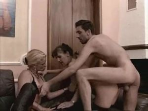 threesome gone anal Real amateur mature