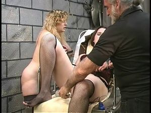Cute thick lesbian bdsm girls with hairy..