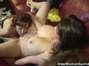 Mature Babes June And Vanessa Get It On!